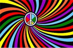 Rainbow Peace Flag Wall Hanging  Our rainbow colored peace flag is a nylon flag that has holes/grommets for hanging on a pole. This flag is about 3' x 5'. It would also look great on a wall or at a festival camping site. #sunshinedaydream #hippieshop
