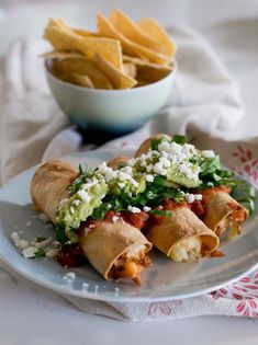 This post was sponsored by the Idaho Potato Commission. I am beyond stoked to bring you this recipe for crispy AIR FRIED rolled potato tacos. What the heck is air Air Fryer Recipes Potatoes, Air Fryer Baked Potato, Idaho Potatoes, Fried Potatoes, Veggie Recipes, Mexican Food Recipes, Veggie Meals, Drink Recipes, Crispy Rolls
