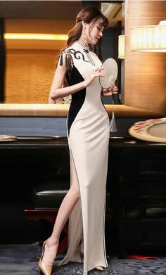 Chinese, Swimsuits, Asian, Culture, Formal Dresses, Sexy, Asian Fashion, Dresses For Formal, Formal Gowns