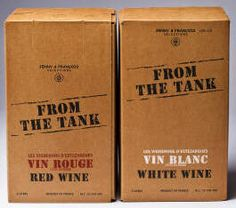 From the Tank wines | More minimalism in design that calls back to the classic *brown paper bag* wrapping appealing to the hipster generation. The stamplike font has a DIY feel, which is very on trend, and the un-intimidating French adds a bit of flair.