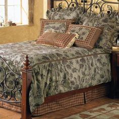 Rustic Bedroom Sets on Pinecone Moss Bedding Collection 300x300 Pinecone Moss Bedding