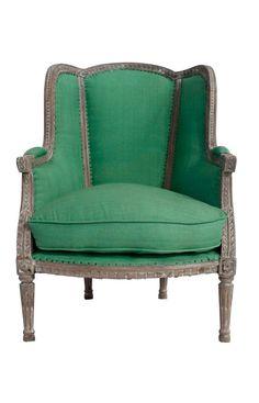 Kelly green linen