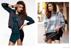 Yara Khimdan Models Street Style Looks for Lovers + Friends Fall 2014 Collection