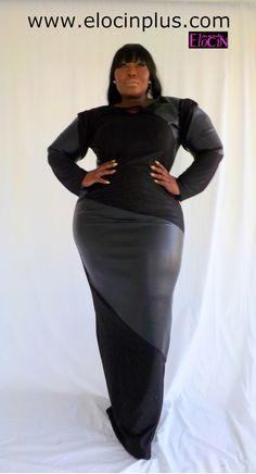 Gotta Have It: Fantasia Plus Size Dress by Elocin