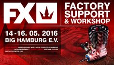 The FX along with German distributor SMI Bertram Kessler are going to provide FX support & FX workshop during BIG Hamburg E.V. race on 14.-16. May . The Workshop will be held at the track on Saturday evening and the participation is FREE.