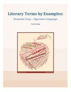 Literary terms dictionary antithesis