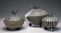 Round Boxes: Larry Halvorsen: Ceramic Boxes - The Artful Home