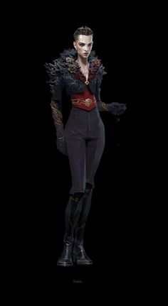 Dishonored 2 Concept Art - Delilah