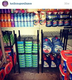 Organization Skills, Coupon Organization, Kitchen Organization, Organizing, House Essentials, Pantry Essentials, Food Storage, Storage Containers, Stock Room