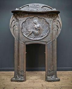 Art Nouveau Chimney Piece 1900-10