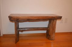 Reclaimed Wood Stool by knotandburldesigns on Etsy
