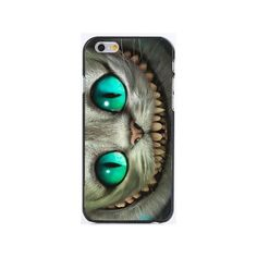 Alice in Wonderland Cheshire Cat Cases for iPhone 6 6s ❤ liked on Polyvore featuring accessories and tech accessories