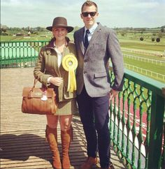 Nominees for best dressed Kelso Racecourse featuring Tan FAIRFAX & FAVOR's . Congratulations Jenny Scott!