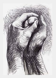 Henri Moore    via Tumblr drawing