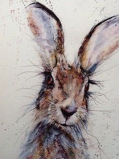 Image result for hare painting