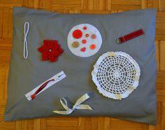 Activity Pillow Case For Alzheimer's / Dementia Patients.