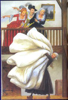 Иллюстрации Николая Устинова к сказкам братьев Гримм. — Дневник Наши бараны, или Языком искусства