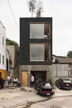 smallspacesblog: Simon Storey's three-storey story