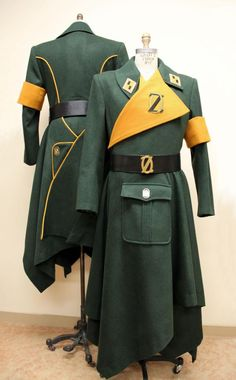 "Guard coats for ""Wicked"" (Broadway). Designed by Susan Hilferty. — at Artur & Tailors Ltd."