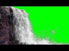 FREE HD Green Screen JUNGLE WATERFALL - YouTube