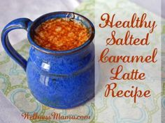 Healthy Salted Caramel Latte Recipe 365x274 Salted Caramel Latte Recipe