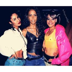 Selena, Aaliyah, Lisa, # my trinity on We Heart It Image discovered by AshleyTorres. Find images and videos about aaliyah, selena quintanilla and lisa left eye lopez on We Heart It - the app to get lost in what you love. Diy Outfits, Selena Quintanilla Perez, Ella Fitzgerald, Rachel Green, Billie Holiday, Beautiful Black Women, Beautiful People, Pretty People, Amazing Women