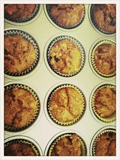 Healthy Baking: Pumpkin Oat Muffins