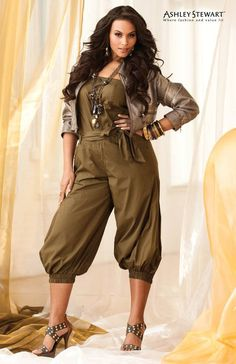 757ad3cc4e0 Cute Jumpsuit Ashley Stewart Womens Plus Measurement Trend Distinctive  Fashion Inspiration U. See even more by checking out the photo link