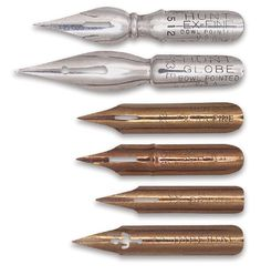 old fashioned pen nibs - I still use these!