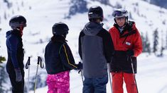 For the month of January, hit the slopes and learn to ski and snowboard in Lake Tahoe Resorts, Snow Activities, Reno Tahoe, Ski And Snowboard, Canada Goose Jackets, Skiing, Winter Jackets, January, Profile
