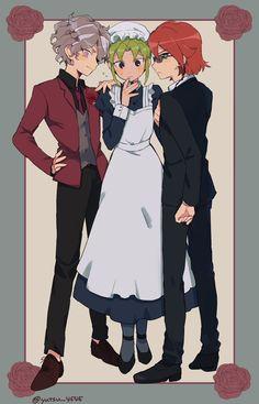Inazuma Eleven Go, Boy Art, Cartoon, Cute, Star, Couple, Kawaii, Cartoons, Comic