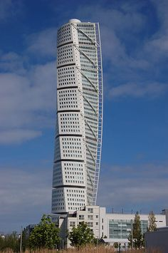 Turning Torso, Malmö (by santiago calatrava) This skyscraper in Sweden is truly one-of-a-kind, but you won't find it in Stockholm. Instead, it is located in the city of Malmo