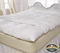 "Queen Size Zippered Featherbed Cover - 60"" x 80"""