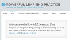 Blog: Powerful Learning Practice