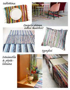 rag rugs! // from Kotilo blog