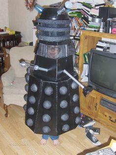 Dalek Costume Idea