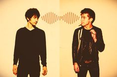 The Transformation we all go through listening to Arctic Monkeys.
