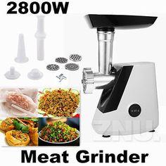 2800W-Stainless-Electric-Meat-Grinder-Mincer-Kubbe-Maker-Sausage-Filler-Maker-US