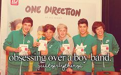 I wouldnt call it obsessing, just knowing there exact location & everything they do throughout the day (: