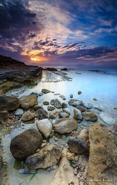 Beautiful Sunset, Life Is Beautiful, Beautiful Pictures, Landscape Photography, Nature Photography, Moonlight Photography, Quelques Photos, Nature Pictures, Fantasy Landscape