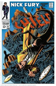 A take on a classic Nick Fury cover by Francesco Francavilla.