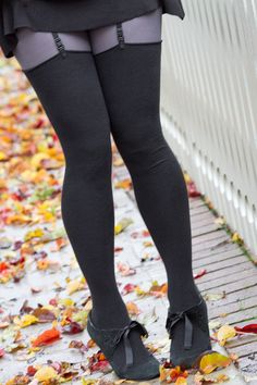 60b51211250 Just like our Extraordinarily Longer Thigh High socks but without a top  cuff