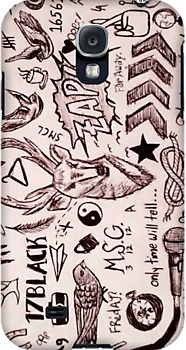 one direction tattoos phone case. I need ideas for making necklaces. Perfect!