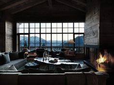Livingroom inspiration, the alps.