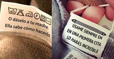 16 divertidas etiquetas que nunca pensarías encontrar en tu ropa