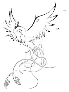 Omg The Perfect Phoenix Tattoo Find This Pin And More On Coloring Pages By