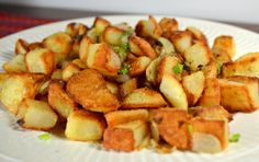America's Test Kitchen Home Fries recipe. --- saw the episode,  these look fantastic!   Want to try! !