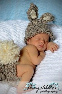 I have this bunny outfit for the baby already! :)