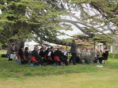Trumpington Garden Fete with City of Cambridge Brass Band City Of Cambridge, Brass Band, British Style, Tango, Seaside, Dolores Park, Bike, Music, Garden