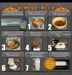 Almond Milk #vegan #almondmilk